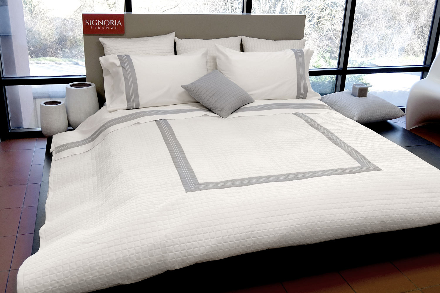 Cover Let Signoria Firenze Cascina Quilt Coverlet Sham Diamond