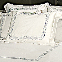 Signoria Eternity Percale Embroidered Bedding