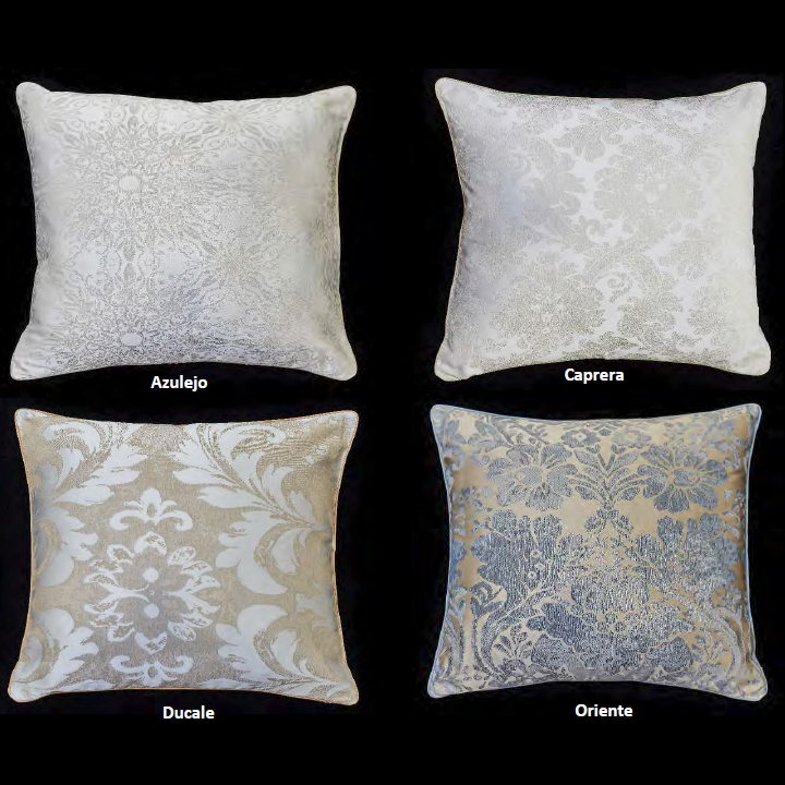 Jacquard Decorative Pillows : Signoria Jacquard Decorative Shams