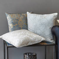 The decorative pillow shams of our 500tc yarn dyed jacquard collections complete this line of decorative accents.