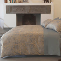 Signoria Oriente Jacquard Duvet and Shams