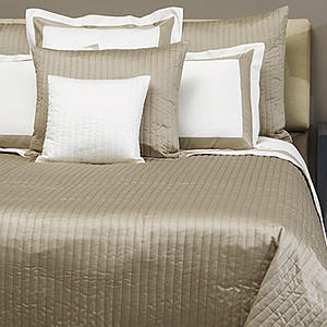 Signoria Siena Knife Edge Quilted Pillow Sham
