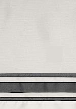Signoria Firenze Tivoli Bedding Fabric Sample - Pearl/Lead Grey.