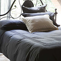 Signoria Viola Lace Duvet and Sham and Bed Sheets