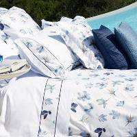 Zafferano Duvet and Sham by Signoria Fine Italian Linens