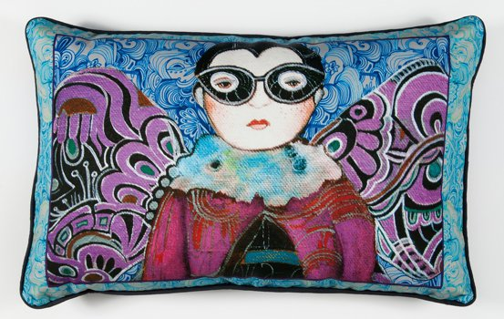 Simple Syrup Decorative Pillows from Artist Danielle Duer
