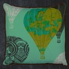 Simple Syrup Design House Decorative Pillows from Artist Danielle Duer.