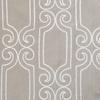 Softline Bergarmo Fabric - Grey White.