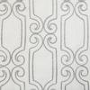 Softline Bergarmo Fabric - White Silver.