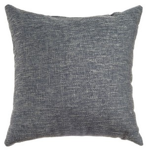 Softline Home Fashions Breda Decorative Pillow in Blue Steel color.
