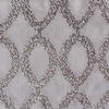 Softline Home Fashions Cagliari Drapery Panels Swatch in Gray color.