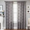 Softline Home Fashions Cagliari Drapery Panels in Gray color.