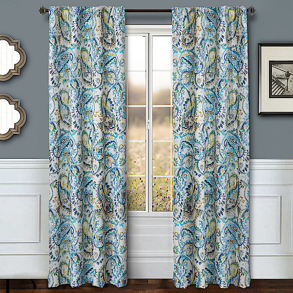 Softline Home Fashions Drapery Cape May Panel