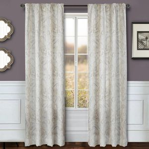 Softline Home Fashions Drapery Cape May Panel -  Celadon