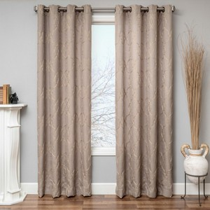 Softline Home Fashions Drapery Carlisle Interlined Panel