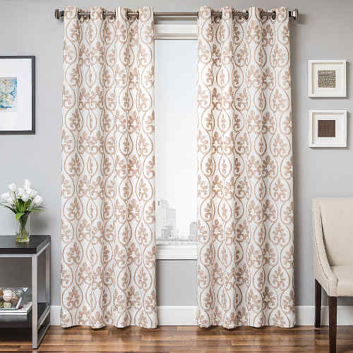 Softline Home Fashions Chia Drapery Panels are Lined, unlined, and interlined drapery panels in different color choices.