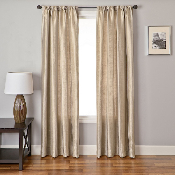 Softline Home Fashions Colma Stripe Drapery Panels are Lined, unlined, and interlined drapery panels in different color choices.