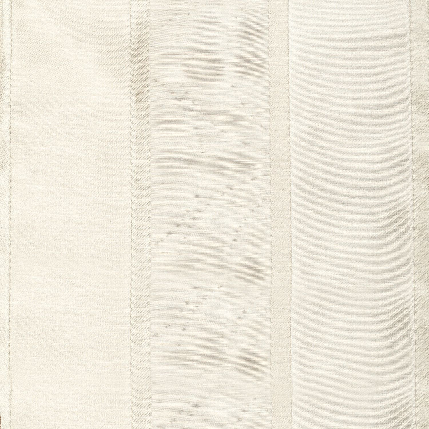 Softline Home Fashions Drapery Colma Stripe Panel - Pearl White