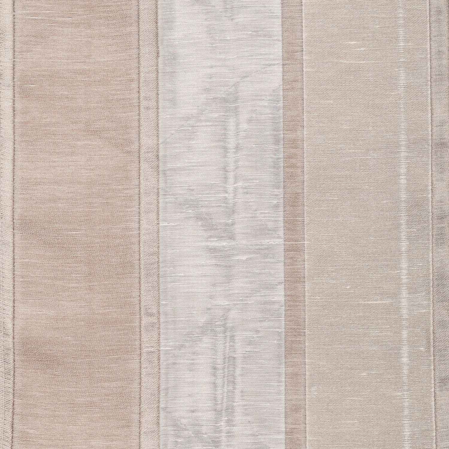 Softline Home Fashions Drapery Colma Stripe Panel - Natural