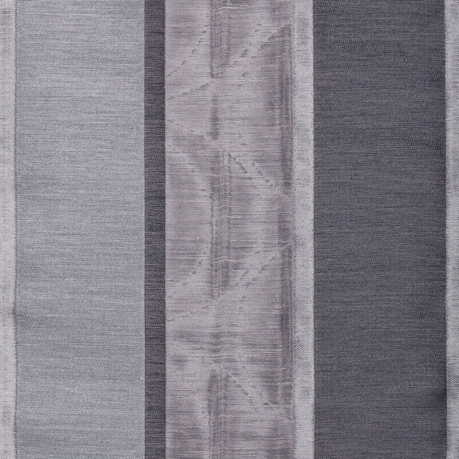 Softline Home Fashions Drapery Colma Stripe Panel - Designer Grey