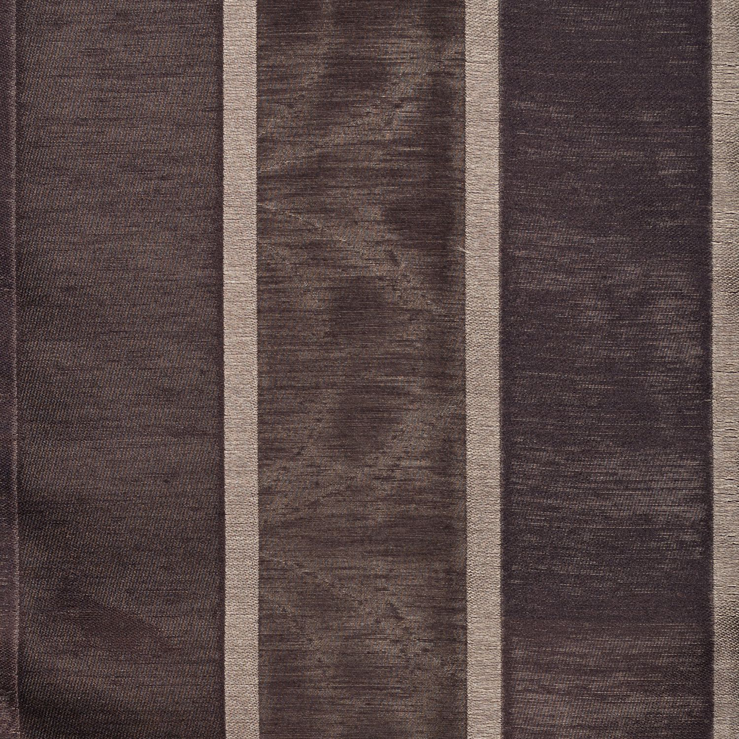 Softline Home Fashions Drapery Colma Stripe Panel - Designer Brown