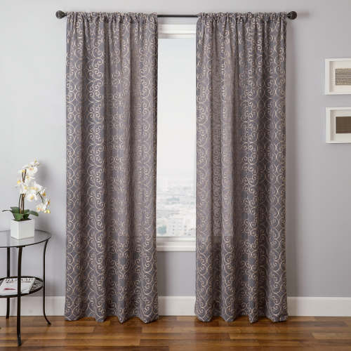 Softline Home Fashions Corby Drapery Panels are Lined, unlined, and interlined drapery panels in different color choices.