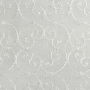 Softline Home Fashions Corby Drapery Panels Swatch in Natural color.