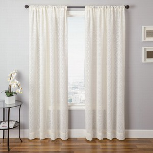 Softline Home Fashions Corby Drapery Panels in Natural color.