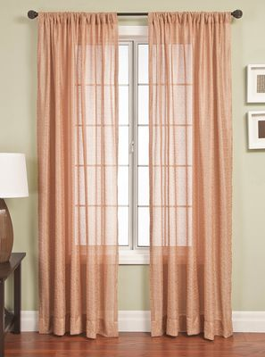 Softline Curuma Drapery Panels are available in 7 color combinations.