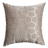 Softline Home Fashions Dijon Decorative Pillow in Grey color.