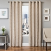 Softline Home Fashions Dijon Drapery Panels in Natural color.