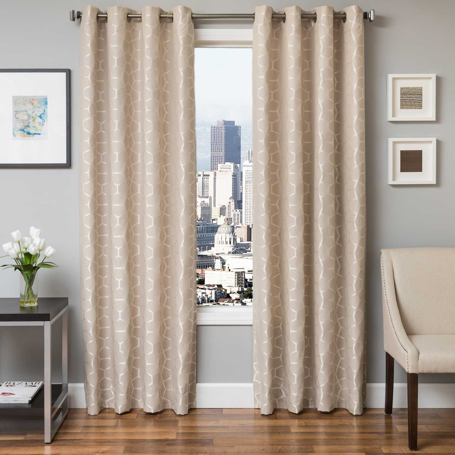 Home gt features amp occasions gt blackout curtains blackout luxury - Natural