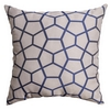 Softline Home Fashions Dijon Decorative Pillow in Sapphire Blue color.