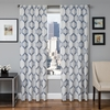 Softline Home Fashions Dresden Drapery Panels in Blue color.
