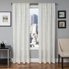 Softline Home Fashions Dresden Drapery Panels in Bone color.