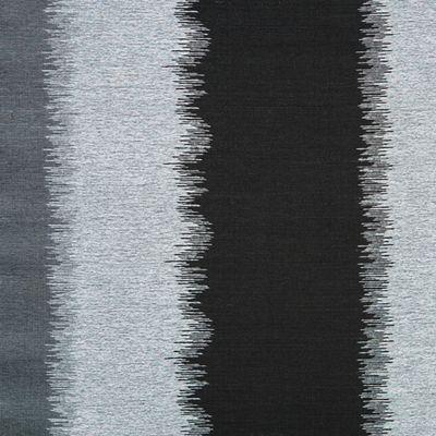 Softline Home Fashions Drapery Dumont Panel - Silver Black.