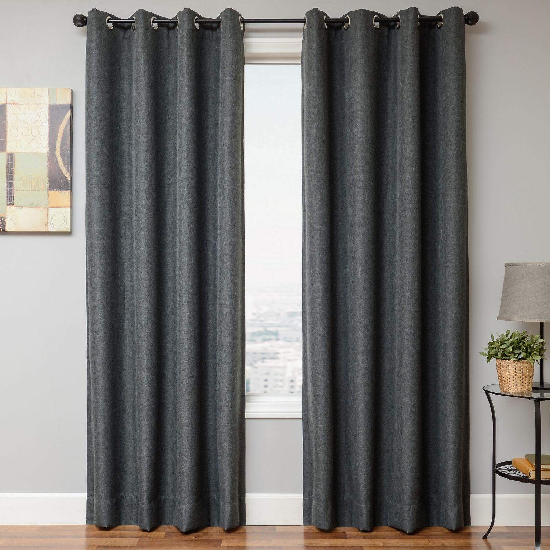 Softline Home Fashions Drapery Emmen Linen Panel