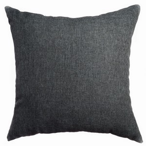 Softline Home Fashions Emmen Decorative Pillow in Charcoal Grey color.