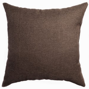 Softline Home Fashions Emmen Decorative Pillow in Chocolate color.