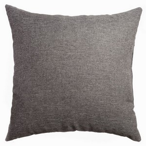 Softline Home Fashions Emmen Decorative Pillow in Dark Grey color.