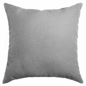 Softline Home Fashions Emmen Decorative Pillow in Light Grey color.