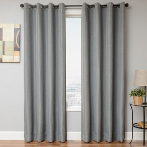 Softline Home Fashions Emmen Drapery Panels in Light Grey color.
