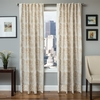 Softline Home Fashions Espoo Drapery Panels in Champagne color.