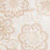 Softline Home Fashions Espoo Drapery Panels Swatch in Champagne color.