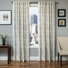 Softline Home Fashions Espoo Drapery Panels in Oatmeal color.
