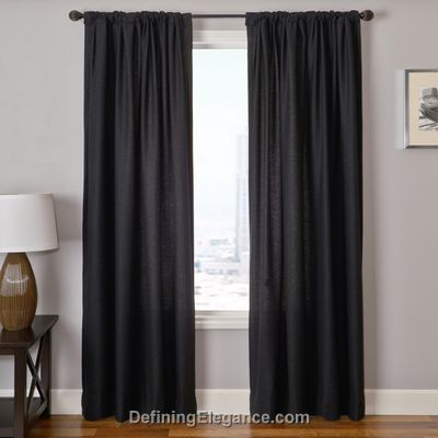 Softline Godeita Solid Drapery Panels are available in 4 colorways.