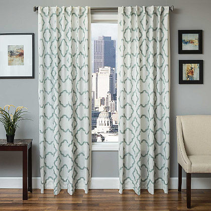 Softline Home Fashions Grenoble Drapery Panels are Lined, unlined, and interlined drapery panels in different color choices.
