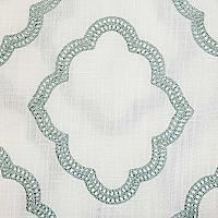 Softline-Home-Fashions-Grenoble-WhiteAqua-Fabric-thumb