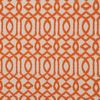 Softline Home Fashions Kaylan Drapery Panels Swatch in Tangerine color.