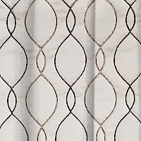 Softline Home Fashions Drapery Lakehurst Wave Panel